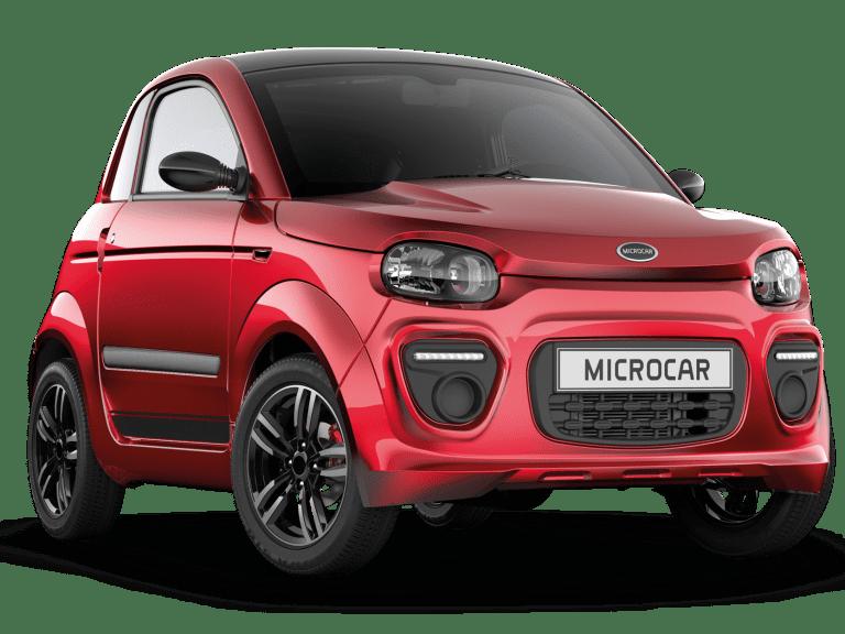 Microcar Dué rood